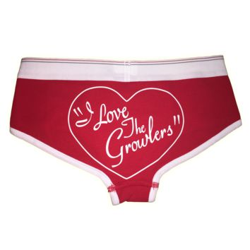 """I Love The Growlers"" Undies"