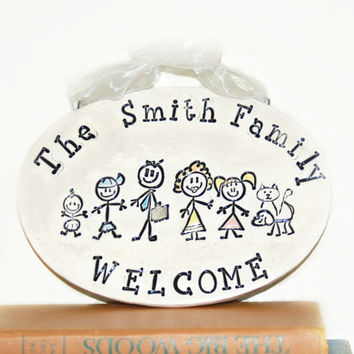 Personalized Ornament of Family for Christmas, New Home, Family Name Ornament