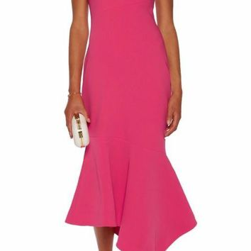 Cinq a Sept pink dress