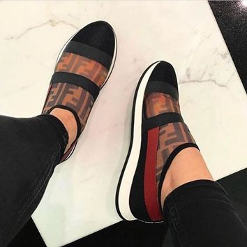 shosouvenir Fendi Sporty sports shoes