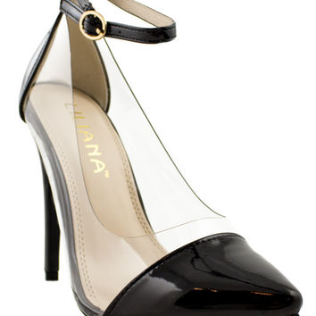 Clearly Posh Lucite Heels