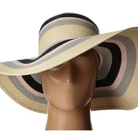 Ivanka Trump Bold Stripe Floppy Hat