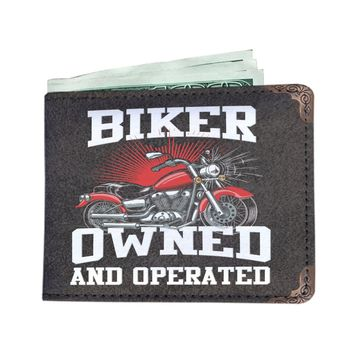 Men's Biker Owned Wallet