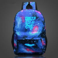 Space Backpack Anime Tokyo Ghoul School Bags for Teenagers Dollar Price Drop Shipping