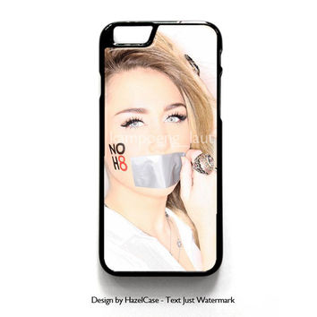 Miley Cyrus Monalisa for iPhone 4 4S 5 5S 5C 6 6 Plus , iPod Touch 4 5  , Samsung Galaxy S3 S4 S5 Note 3 Note 4 , and HTC One X M7 M8 Case Cover