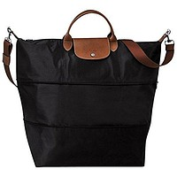 "Travel bag 2 size 2 style ( black ) by longchamp paris "" LE PLIAGE"" 100% authentic original from PARIS FRANCE"