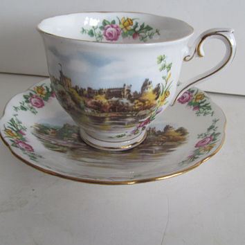 Royal Albert Bone China Tea Cups Traditional British Songs Land Of Hope and Glory Tea Cup series Tea Cup Saucer Set England Tea Cups English