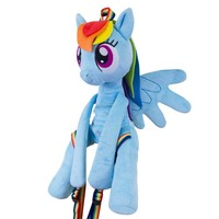 My Little Pony Friendship is Magic Rainbow Dash Hug Me Backpack