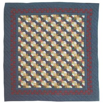BELLACOR QTBTIE Bow Tie Twin Quilt