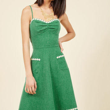 Plaza Perfection Midi Dress