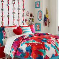 Teen Vogue Poppy Art Comforter Set - Dorm Bedding - Bed & Bath - Macy's