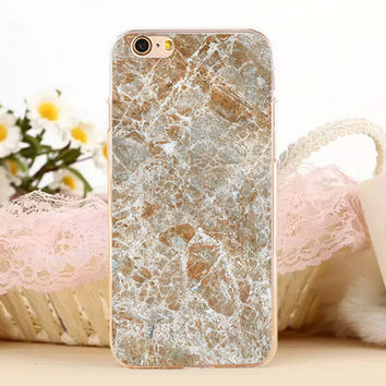 Break-up Marble Stone Protect iPhone 5s 6 6s Plus creative case + Gift Box-131