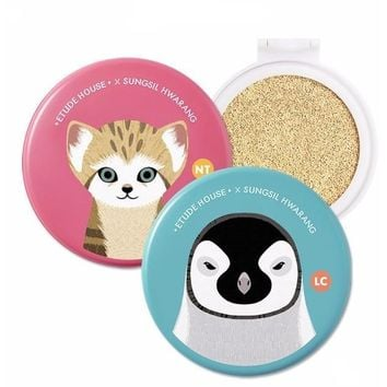 ETUDE + SUNSIL HWARANG Save Cushion Ver. Moist Any BB Cushion SPF 50+ PA+++