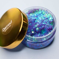 GLITTER ROOTS MERMAID SCALES PURPLE HAIR GEL (TRAVEL SIZE)