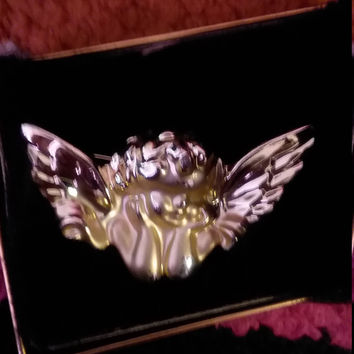 Baby Angel Brooch