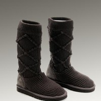 UGG Classic Argly Knit 5879 Boots Chocolate