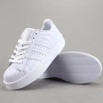 Adidas Superstar Bold W Women Men Fashion Casual Old Skool Low-Top Shoes-5