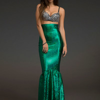 Seductive Mermaid Costume