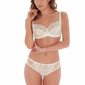 Suzette Briefs in Ivory by Charnos