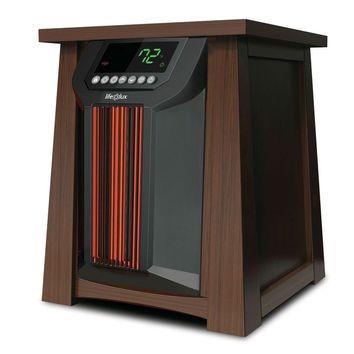 Oscillating 1,500 Watts Infrared Heater with Remote - 5,118 BTUs