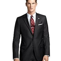 Plain-Front Suiting Essential Trousers - Brooks Brothers