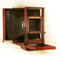 Vintage Camera 11x14 Wooden Large Format Wet Plate Camera Project