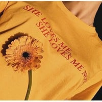 She Loves Me She Loves Me Not Tee