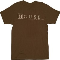 Fox House M.D. Logo Script T-shirt - House - | TV Store Online