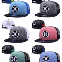 Hurley Cap Summer Street Snapback Hats Fashion Men Woman Hip Hop Casquette Baseball Sport Panel Popular More Colors Ball Gorras mix order