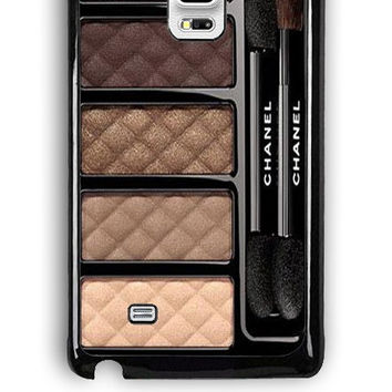 Samsung Galaxy Note Edge Case - Rubber (TPU) Cover with Chanel Ombres Matelassees Design