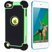 i-Blason Armadillo Series For iPod Touch 5G 5 5th Generation iTouch 5G 2 Layer Defender Silicone Cas
