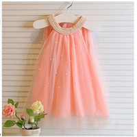 Summer Chiffon Dress For Girls