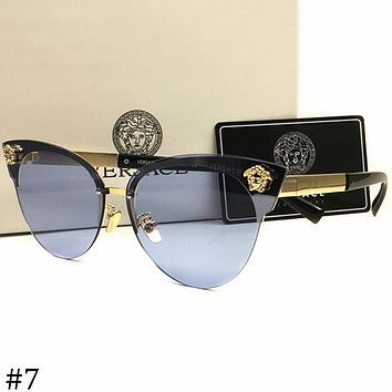 Versace 2018 men and women large frame polarized color film sunglasses F-AJIN-BCYJSH #7