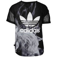 adidas Originals Rita Ora White Smoke T-Shirt - Women's at Lady Foot Locker