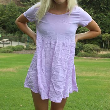 sweet lavender dress