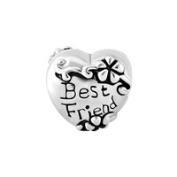 Graduation Gifts Best Friends Heart Dangle Charm Bead Fits Pandora Bracelets