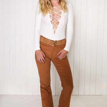 Edlyn Corduroy Flare Pants