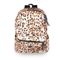 Back To School Comfort Hot Deal Casual College On Sale Pink Leopard Print Stylish Backpack [4915454724]