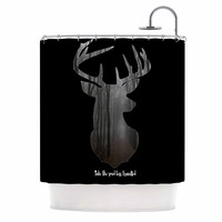 """Suzanne Carter """"The Road"""" Contemporary Nature Shower Curtain"""