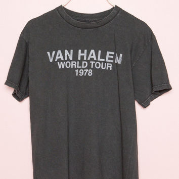 Van Halen World Tour Tee - Band Tees - Graphics