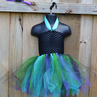 2 Pc Witchy Spells Dress/ Halloween/ Witch dress/ Tutu Dress