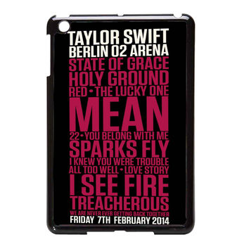Taylor Swift Red poster 4ce026c1-1ac5-4006-914e-d919c7a01048 FOR IPAD MINI CASE**AP*