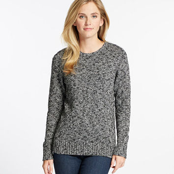 Women's Cotton Ragg Sweater, Marled   Free Shipping at L.L.Bean