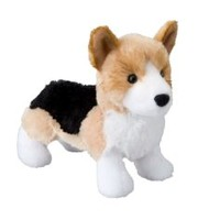 "Shorty Tri-color Corgi 8"" by Douglas Cuddle Toys"