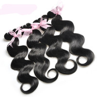 Cheap Hair! 7A Brazilian Virgin Hair Body Wave Weft Hair Weave Extensions Natural Color Dyeable Bleachable Unprocessed 60g/pc