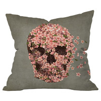 Terry Fan Reincarnate Throw Pillow
