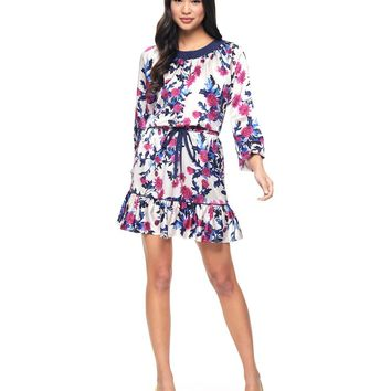 Aster Bouquets Silk Dress by Juicy Couture