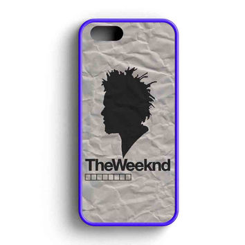 The Weeknd Siluet One iPhone 5 Case iPhone 5s Case iPhone 5c Case