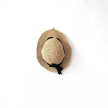 Adjustable Straw Summer Sun Hat with Smaller Brim by beliz82