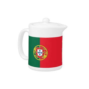 Portugal Flag Teapot